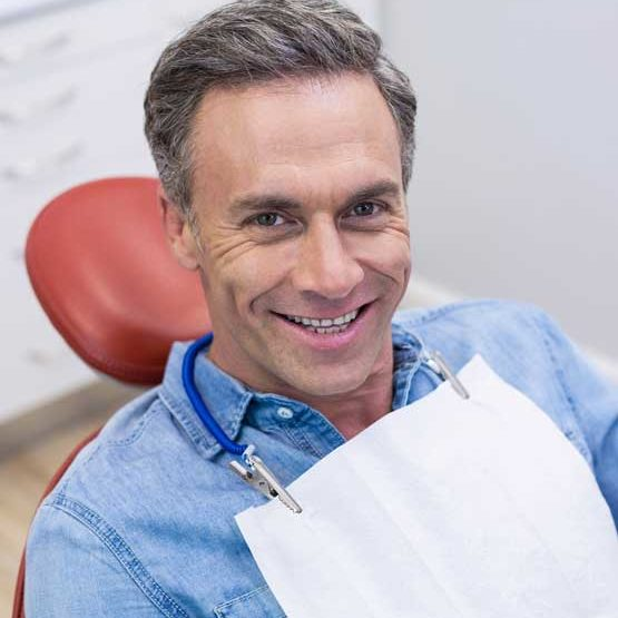 Man at Dental Exam