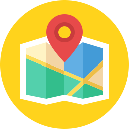 location map icon